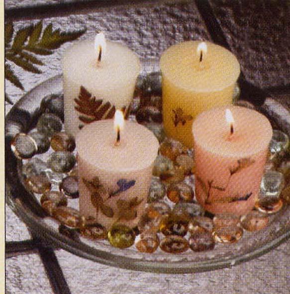 Свечи своими руками на подставке фото 88